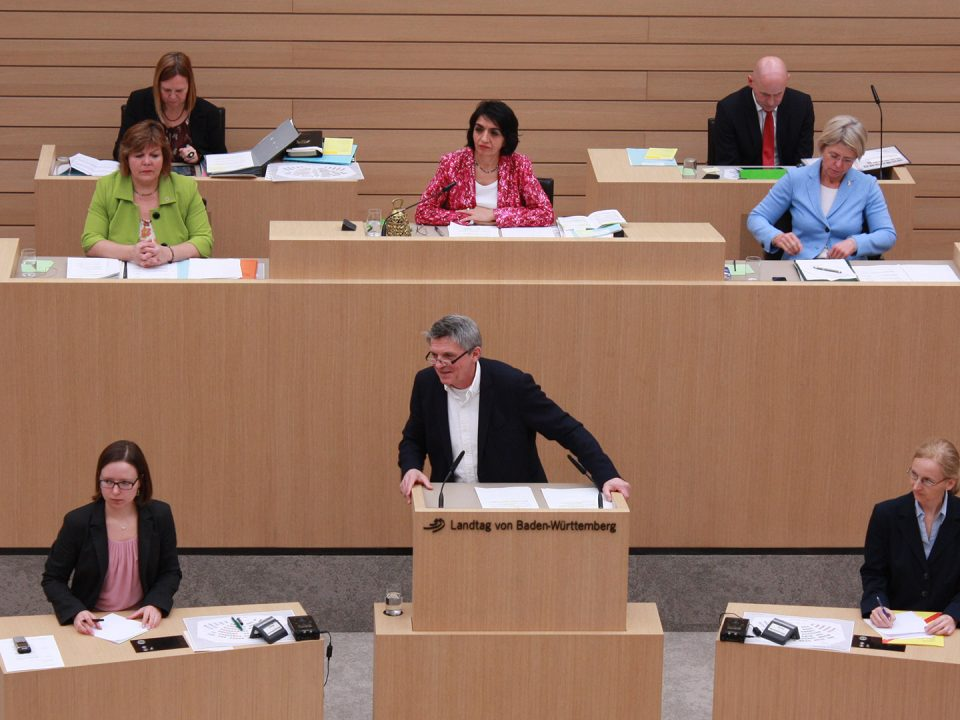 Martin Rivoir –Landtagsabgeordneter SPD, Wahlkreis Ulm/Alb-Donau –Im Parlament